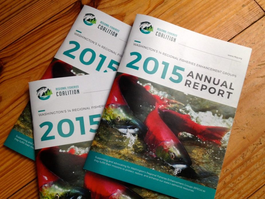 Regional Fisheries Coalition 2015 Annual Report