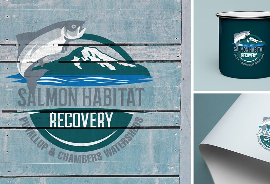 Puyallup and Chambers Watersheds Salmon Recovery Branding
